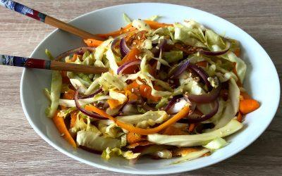 Poêlée de légumes croquants