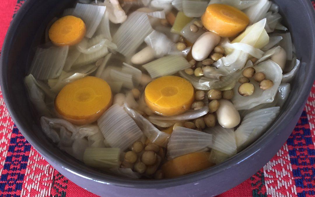 Soupe rustique