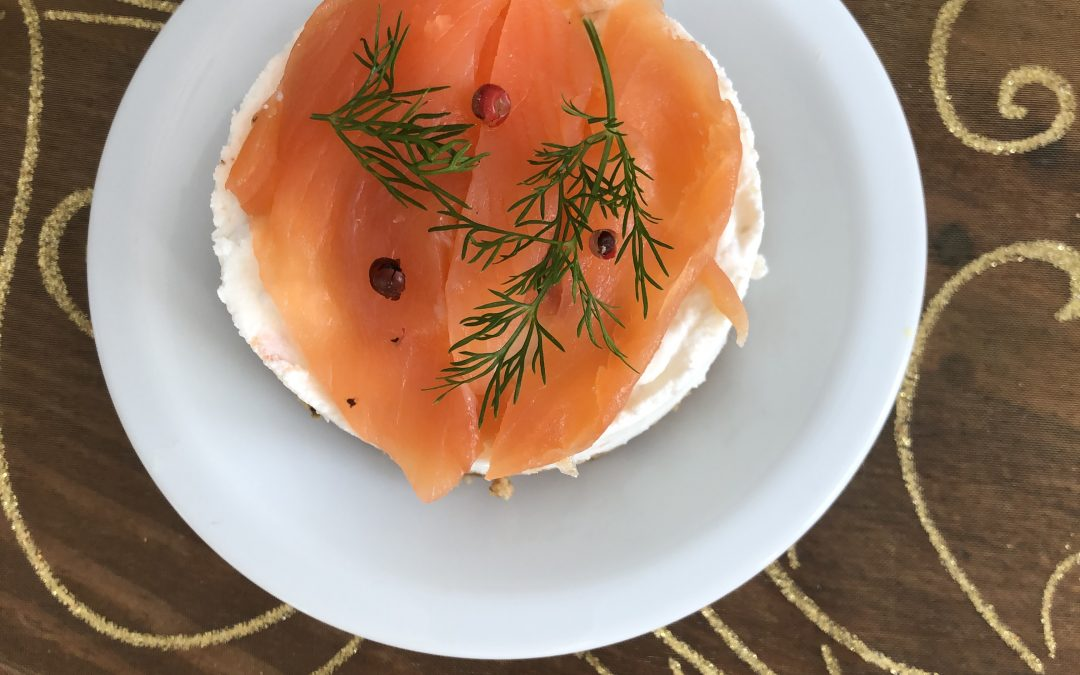 Cheesecake au saumon et citron vert