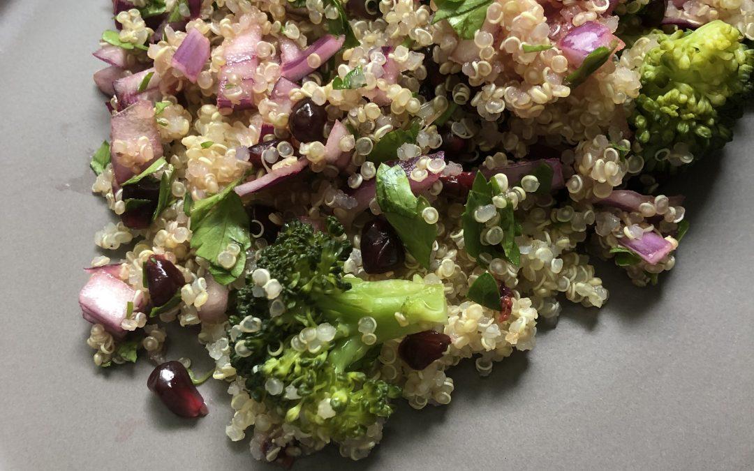 Taboulé vitaminé de quinoa
